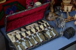 Šahovske figure, rucni rad kovano gvozdje